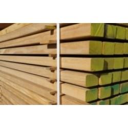 ◘ PROMO Lambourde 40x60 pour Terrasse Bois Exotique Classe 4 en 1.25m