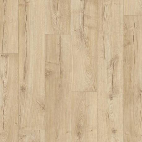 Sol Stratifié QUICK STEP - Chêne Classique Beige. Prix / botte de 1.835 m²