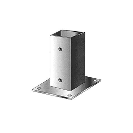 Support pied de poteau bois 180x180 / 18x18 à fixer galvanisé à chaud