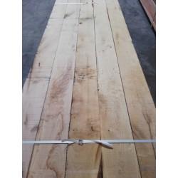 * Traverse de Bois paysagère 100x200mm Brut en Chêne en 2.40 m