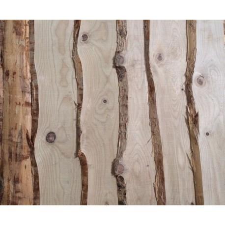 Planche non délignée Épaisseur 18mm Douglas Naturel Brut 4m Prix au m² (copie)