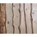 ◙ Planche non délignée Épaisseur 18mm Douglas Naturel Brut 4m Prix au m²