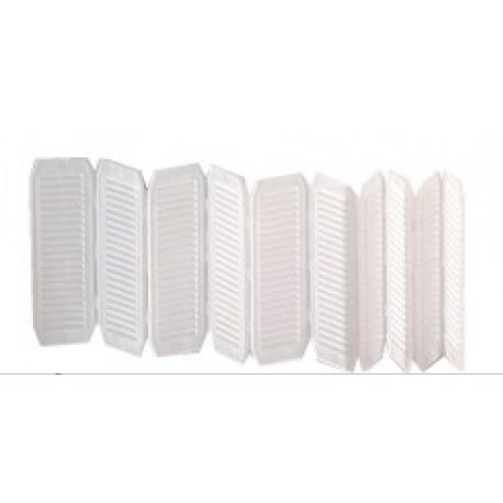Cale pliable - pour terrasse bois - empilable - boite de 200 cales plibales - Deckit