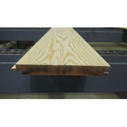Lambris / Planche à emboîtement à Joints Creux 21x180mm Douglas 2nd Choix. Prix à la lame de 4m