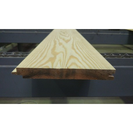 Lambris / Planche à emboîtement à Joints Creux 21x180 Douglas Naturel 1er Choix. Prix / lame de 4m (copie)