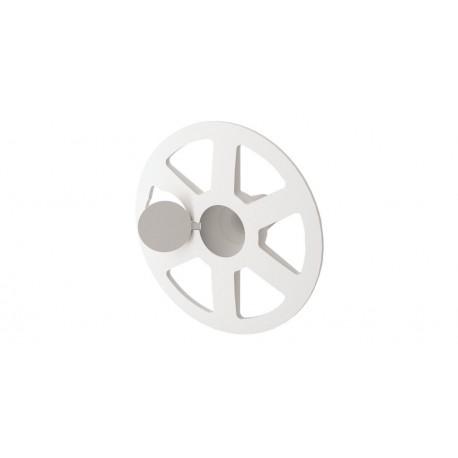 Rosace Plastique Rondelle Ø65mm avec capuchon pour Isolant