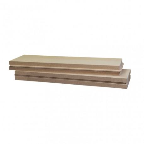 * Panneau Isolant Rigide et Hydrofuge Isonat FIBERWOOD Multisol 140 (RL) 1872x572mm
