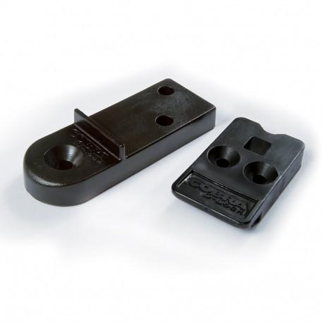 Kit Fixation Invisible pour lame de Terrasse - Cobra D-Lock
