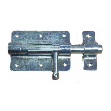 Verrou de box porte cadenas Ø 15 mm / L : 100 mm