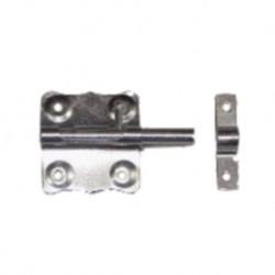 Verrou de porte cadenas Ø 8 mm / L : 50 mm