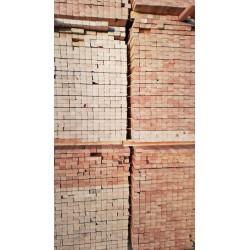 Bois de Structure / Ossature Raboté Sec KD Qualité Charpente C18 Longueur 1m95