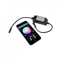 Télécommande Bluetooth pour Spot LED Couleur RGB (pour Smartphone iOS / Android)