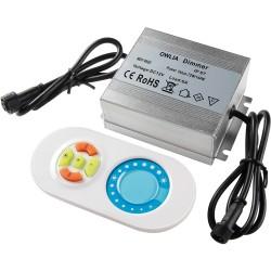 Télécommande Variateur pour Spot LED Couleur RGB ou Blanc Chaud