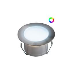 Spot LED Encastrable Couleur RGB ou Blanc Chaud (prix à l'unité)