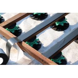 Rouleau Bande Bitumeuse d'étanchéité pour Terrasse 8 cm x 20 m