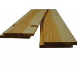 Volige / Plancher / Sous-toiture Mi-Bois 22x135 Douglas 1er Choix 4m