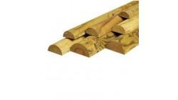 Demi-rondins Fraisés